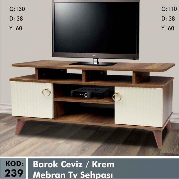 239-barok-ceviz-krem-mebran-tv-sehpa