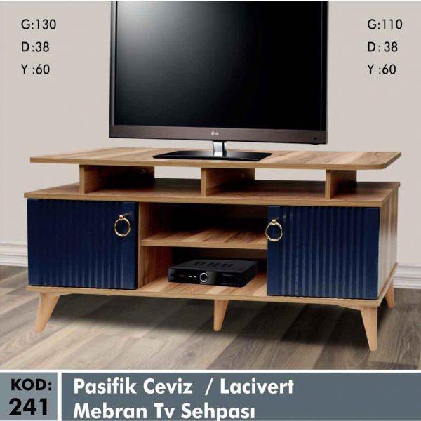 241-pasifik-ceviz-lacivert-mebran-tv-sehpa