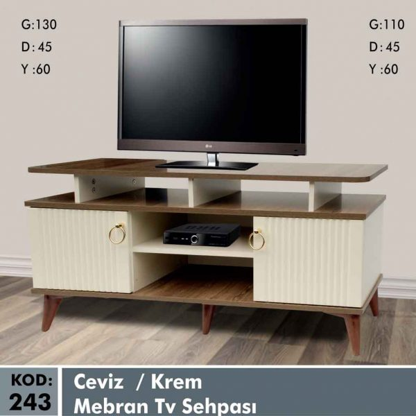243-ceviz-krem-mebran-tv-sehpa