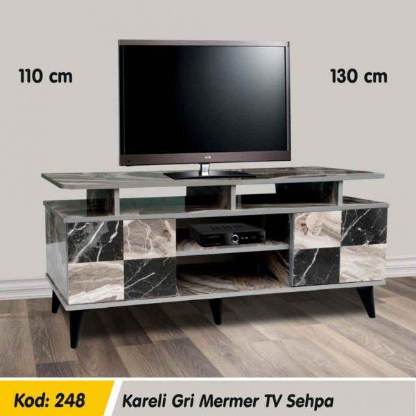 248-gri-mermer-kareli-tv-sehpa-1